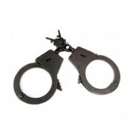 Металлические наручники БРС -2 (вороненые, 2 ключа)